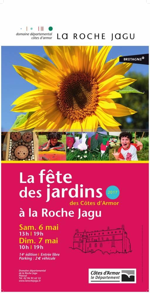La fête des jardins des Côtes d'Armor - Parc et  Jardins du Château de la Roche Jagu-Ploëzal (Côtes-d'Armor - 22)