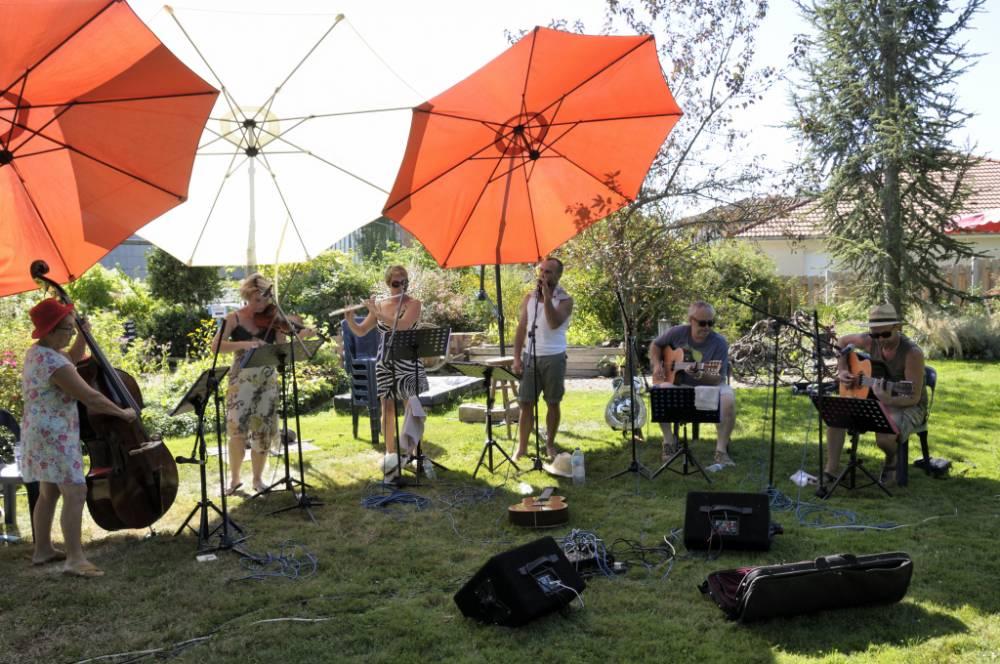 Musique au jardin un jardin pour tous les sens for Jardin pour tous