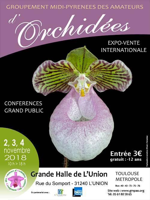 exposition vente internationale d'orchidées - Grande Halle - 31240 L'Union (31)