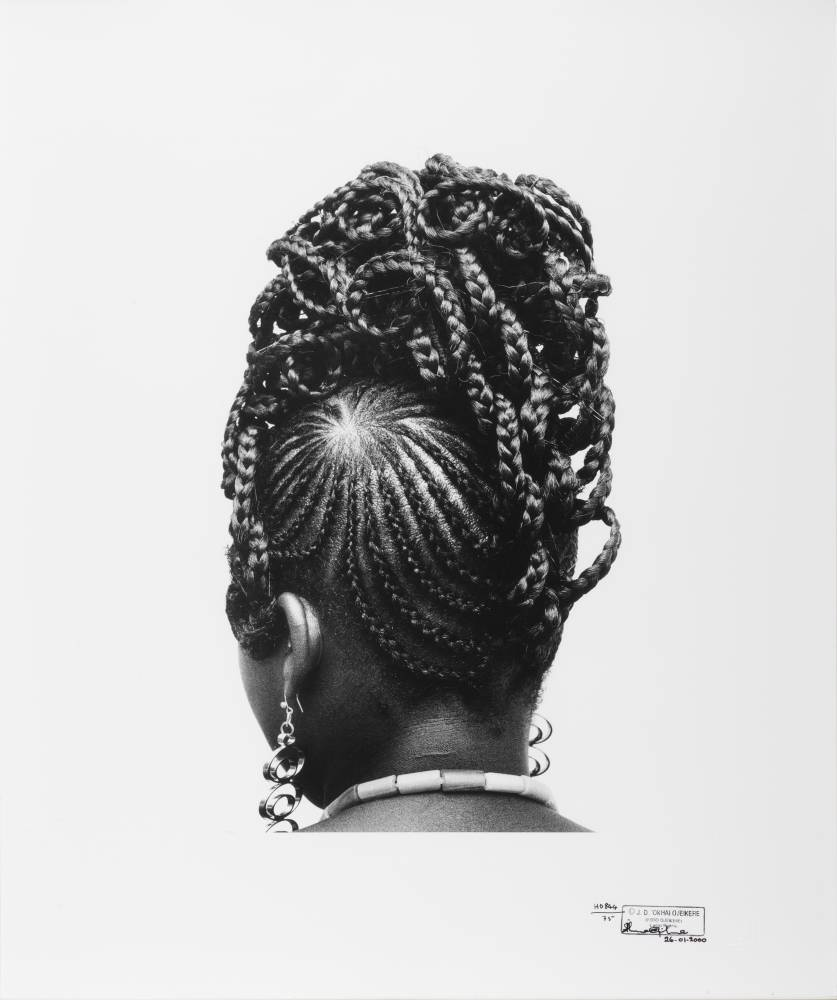 HAIRSTYLE - Exposition Photo de J.D.Okhai Ojeikere. 2018 à Daoulas (29)