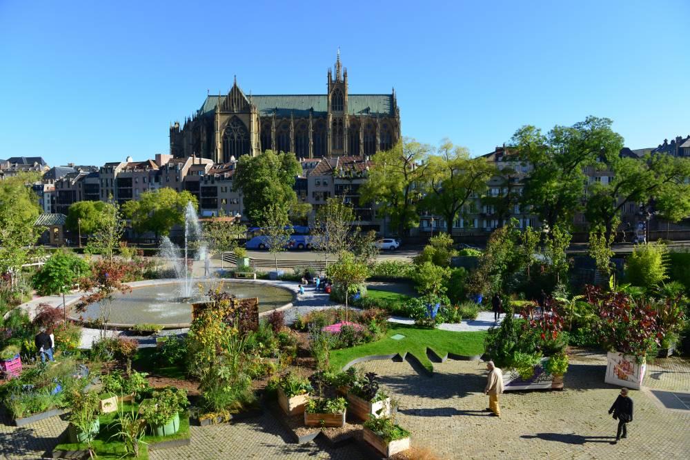jardin phmre sur le thme le voyage botanique place de la comdie metz 57 - Jardin Botanique Metz
