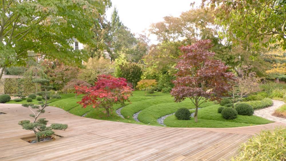 Le Jardin Botanique Aux Couleurs Du Japon Jardin Botanique De