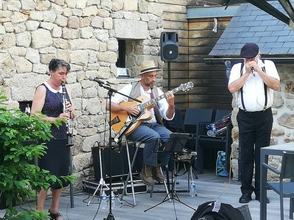 BlueMary Swing Concert, Les Jardins Sothys (19) - France
