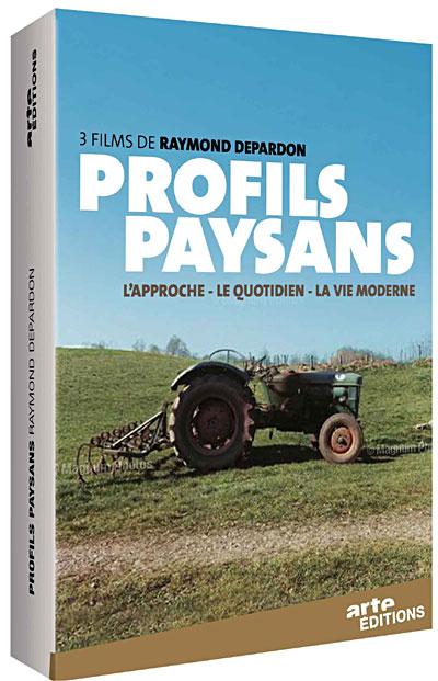 profils paysans coffret de la trilogie livre de raymond depardon