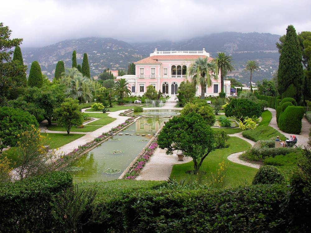 Jardins de la villa ephrussi de rothschild photo 1 for Jardin villa rothschild