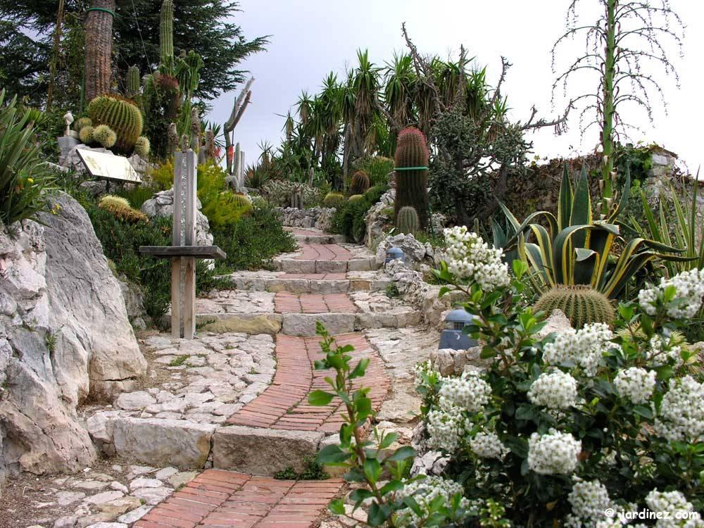 Jardin Exotique d\'Èze, Alpes-Matimes (06), Provence-Alpes-Côte-d\'Azur