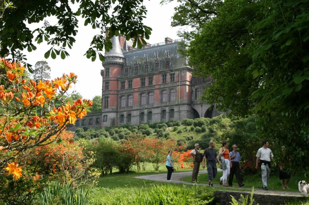 Parc et jardins du ch teau de tr varez saint goazec - Jardin a l italienne ...