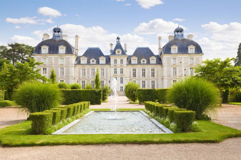 Cheverny Castle Gardens and Park