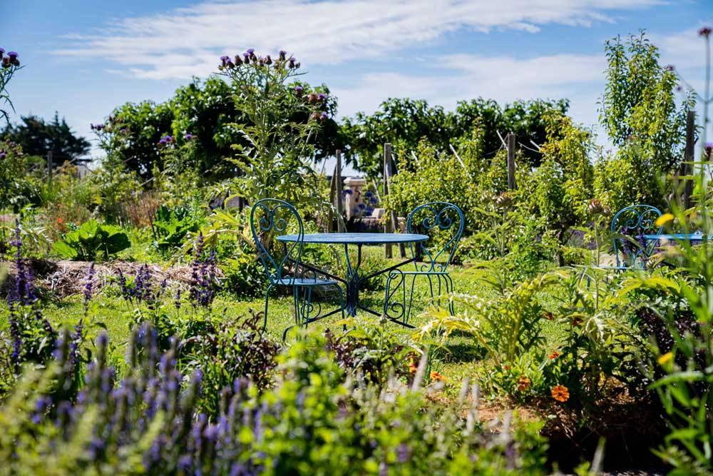 Les jardins de l 39 auberge la fontaine aux bretons pornic for Le jardin de l atlantique