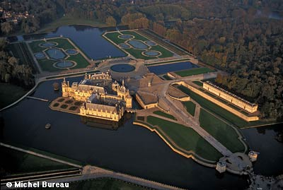 The Park Of Chantilly Castle