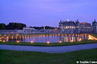Der Park des Schlosses von Chantilly photo 1