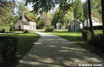 Der Park des Schlosses von Chantilly photo 6