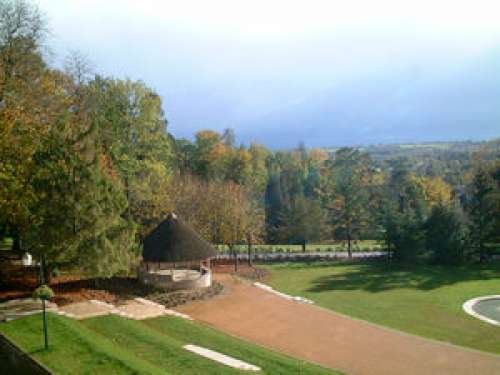 Les origines du parc du ch teau de la roche bagnoles sont contemporaines la construction du - Jardin contemporain athis de l orne nantes ...