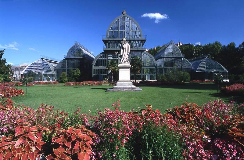 The botanical garden of the city of lyon lyon 69459 for Jardin couvert lyon