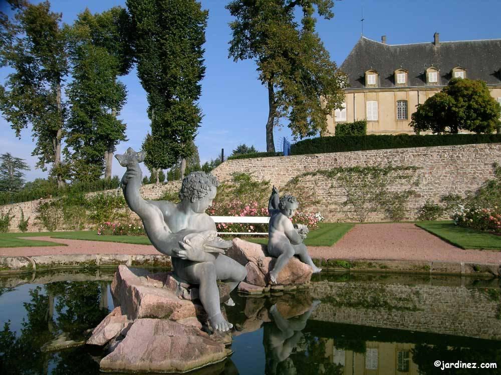 Parc et jardins du ch teau de dr e curbigny 71800 for Jardin du val de saone
