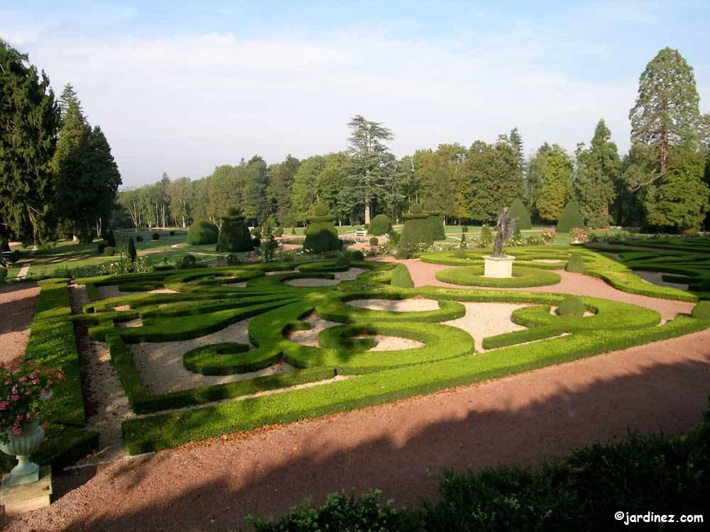 Parc et jardins du ch teau de dr e curbigny 71800 sa ne et loire bourgogne franche comt - Parcs et jardins de france ...