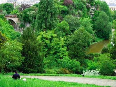 Der Park der Buttes-Chaumont photo 11