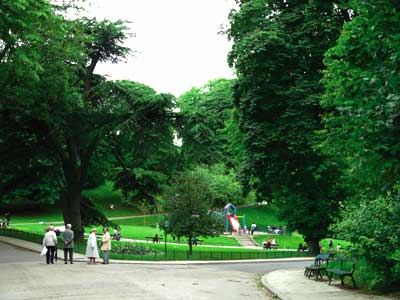 Der Park der Buttes-Chaumont photo 2