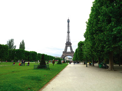 Der Park des Champ-de-Mars photo 3
