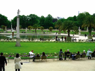 Jardin du luxembourg photo 0 for Piscine jardin du luxembourg
