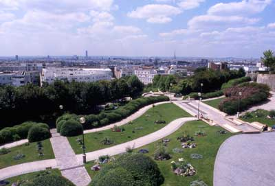 Parc de belleville photo 0 - Jardin de belleville paris ...