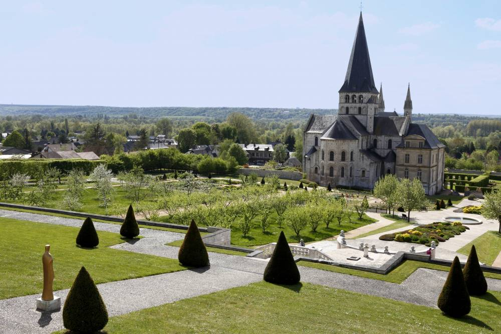 Gardens Of the Abbey Of Saint-Georges
