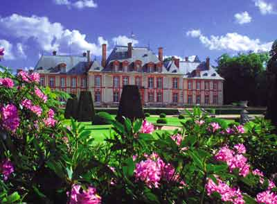 The Gardens Of Breteuil Castle