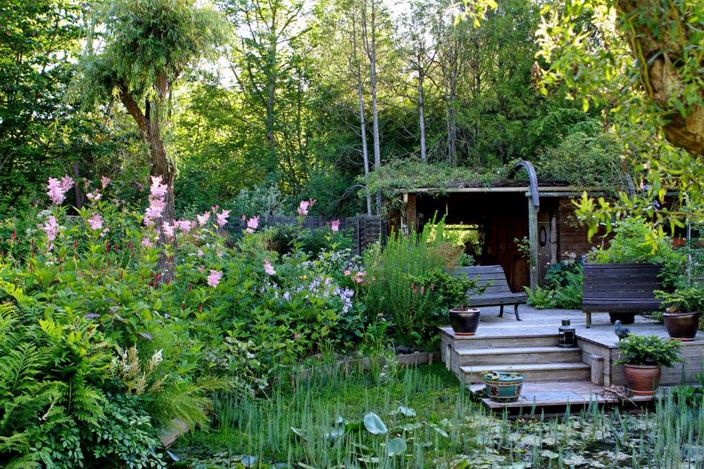 Jardin De La Grenouillere Les Essarts Le Roi 78 Yvelines